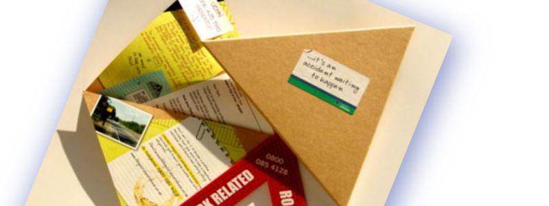 MCM2 | Marketing Nantwich | folded paper