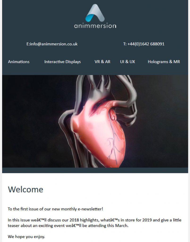 MCM2 | Digital Marketing Agency Cheshire | Animated Heart