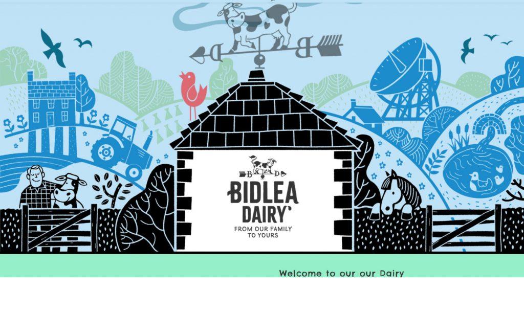 MCM2 | Digital Marketing Agency Cheshire | Bidlea Dairy logo