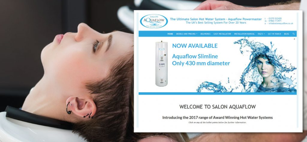 MCM2 | Marketing Agency Cheshire | Salon Aquaflow Web Design