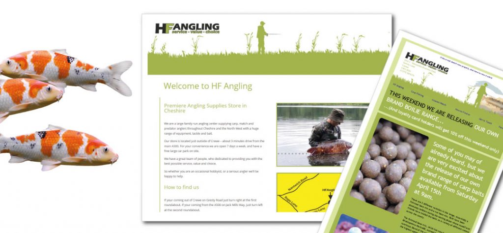 MCM2 | Marketing Agency Cheshire | HF Angling Email Marketing