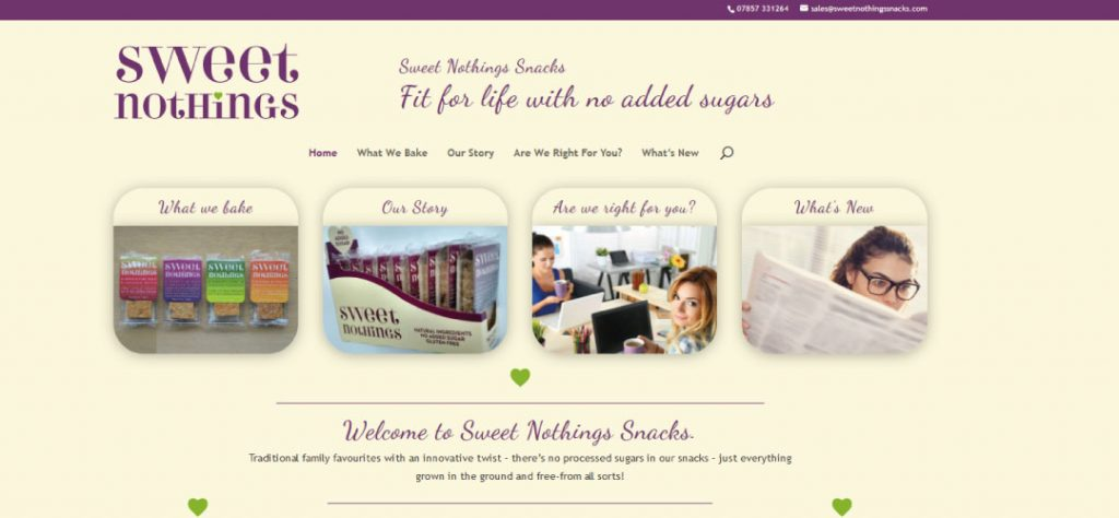 MCM2 | Digital Marketing Agency Cheshire | Sweet Nothings